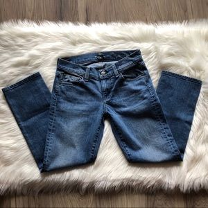 7 for all mankind jeans- Cropped Straight fit 7FAM